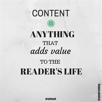 Marketing Quotes Value Inspirational Quote Reader Strategy