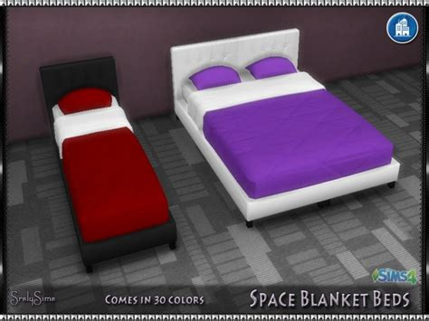 space blanket beds  srslysims sims  updates