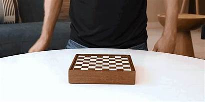 Chess Open Box Crafted Wood Play Setting