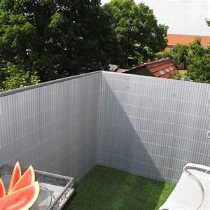 Sichtschutzzaun Aus Kunststoff : sichtschutzzaun pvc kunststoff r gen aluminium sichtschutz ~ Watch28wear.com Haus und Dekorationen
