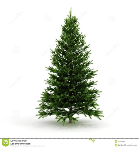 3d christmas tree ready to be decorated stock photography