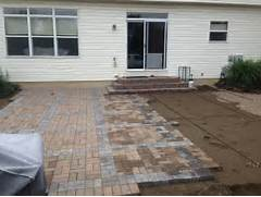 Adding Pavers To Concrete Patio Decorate Detail Information For Ideas For Installing Patio Pavers