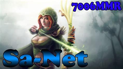 dota  sa net  mmr plays windrunner vol  ranked match gameplay youtube