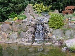 Steinmauer Mit Wasserfall : naturteich mit wasserfall bachlauf foto galerie ~ Sanjose-hotels-ca.com Haus und Dekorationen