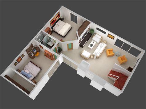 3D House Floor Plan Design