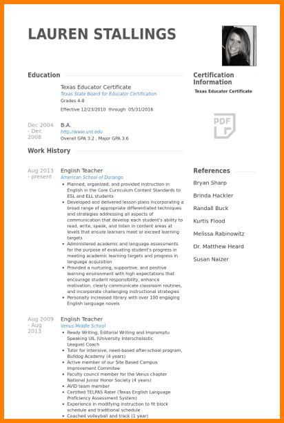 english teacher cv penn working papers