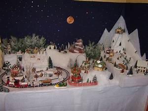 Village De Noel Miniature : comment construire village noel miniature ~ Teatrodelosmanantiales.com Idées de Décoration