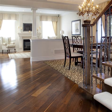 Smooth, Black Walnut Natural   Vintage Hardwood Flooring