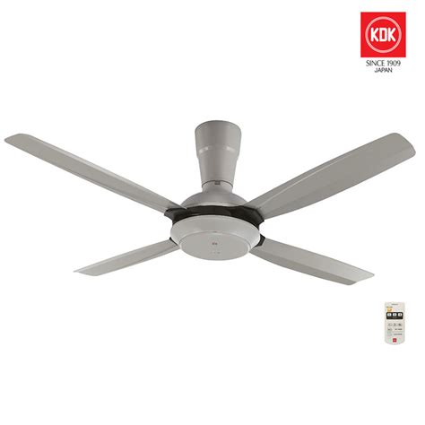 Kdk 56 Ceiling Fan With Remote Control Grey Color My