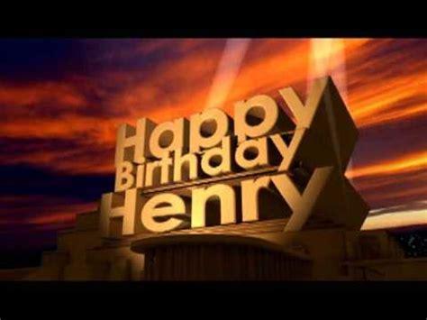 Happy Birthday Henry Images Happy Birthday Henry