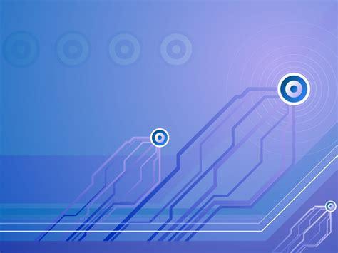 Technical Set Powerpoint Backgrounds  Blue, Technology