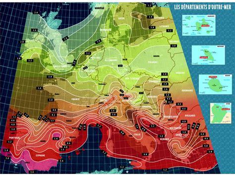 Carte Ensoleillement by Ensoleillement Carte De Et De L Europe