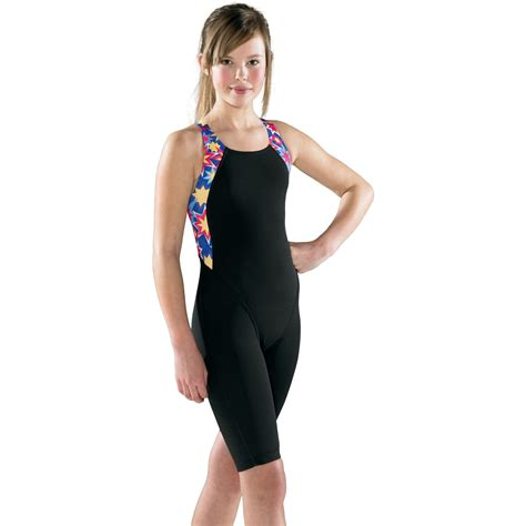 legs swimsuit wiggle maru girls starburst pacer legs swimsuit aw13