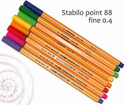 Pens Felt Spirograph Tip Stabilo Fine Use