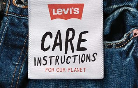 Levi's Sustainability Page  Stats On The Full Lifecycle