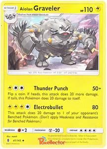 Alolan Graveler - Guardians Rising #41 Pokemon Card