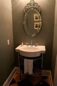 Half Bath Pedestal Sink by 1 2 Bath Pedestal Sink And Checkerboard Floor On An Angle
