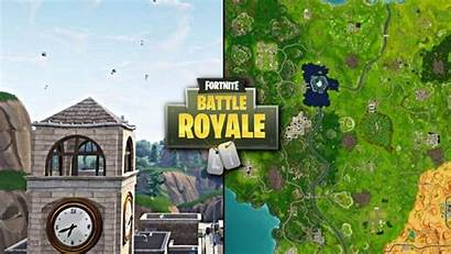 Fortnite Tilted Towers Wallpapers Map V6 Patch