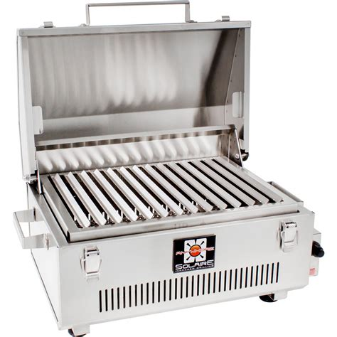 stainless steel gas grills solaire anywhere 304 grade stainless steel portable