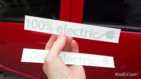 100 Percent Electric Cars new stereo and subwoofer in the electric car kiwiev