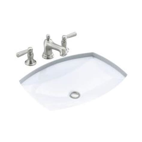 kohler kelston white undermount bath sink kohler kelston under mounted bathroom sink in white k 2382