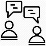 Icon Debate Talking Conversation Discussion Vectorified Getdrawings