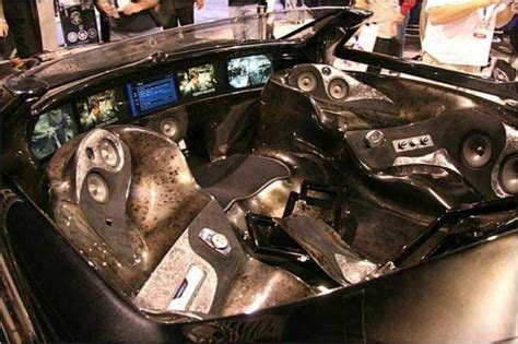 crazy bmw tuning cars show