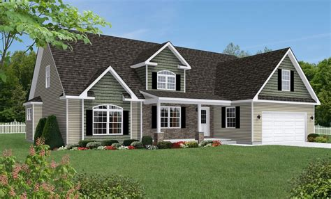 Shown With Optional Reverse Gable Dormer With Cornice