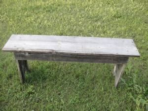 vintage wood benches  sale