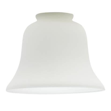 white glass lamp shade bell shaped lamp shade