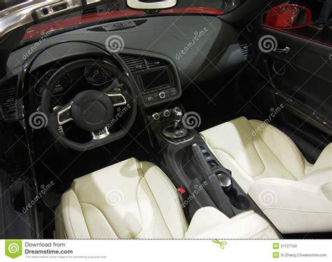 Super Sport Car Interior Stock Photo. Image Of Interior