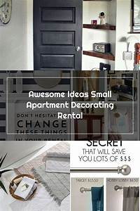Awesome, Ideas, Small, Apartment, Decorating, Rental, In, 2020