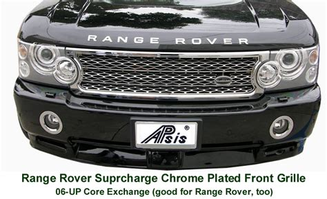 Range Rover Chrome Products : apsisusa