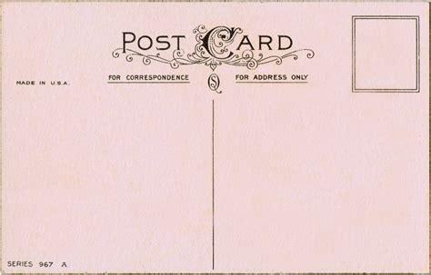 free postcard free printable vintage postcard pretty knick of time
