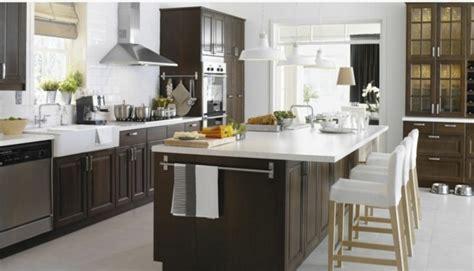 conception cuisine ikea cuisine ikea marron solutions pour la décoration