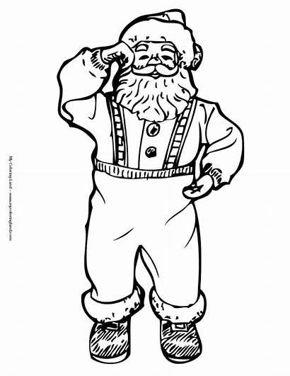Coloring Pages Christmas Poor Helping Santa Nicolas