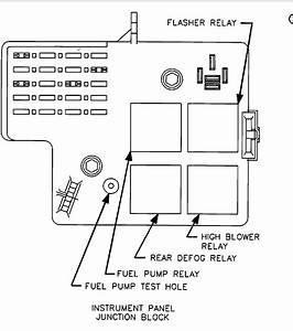 Where Would The Fuel Pump Relay Be Located And Is There