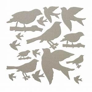 Chip Art Die-Cut Bird Shapes - Oriental Trading - Discontinued