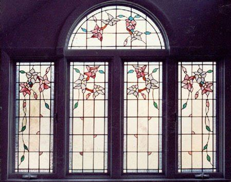 stained art glass  andersen windows giving homes character