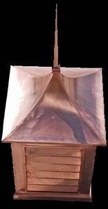 custom copper cupola with roof finial cone rutland With copper cupola tops