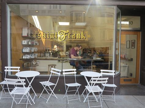 Are they under the counter or maybe the quality saint franks' coffee simply falls from through the skylights and stars above into your mug? Kevin Bohlin Of Saint Frank Coffee Talks Origins, New Location   Hoodline