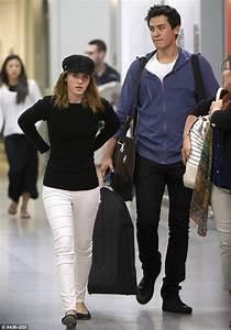 Emma Watson is reunited with boyfriend Will Adamowicz as ...