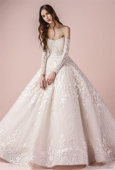 Saiid Kobeisy 2018 Wedding Dresses Princess Ball Gowns