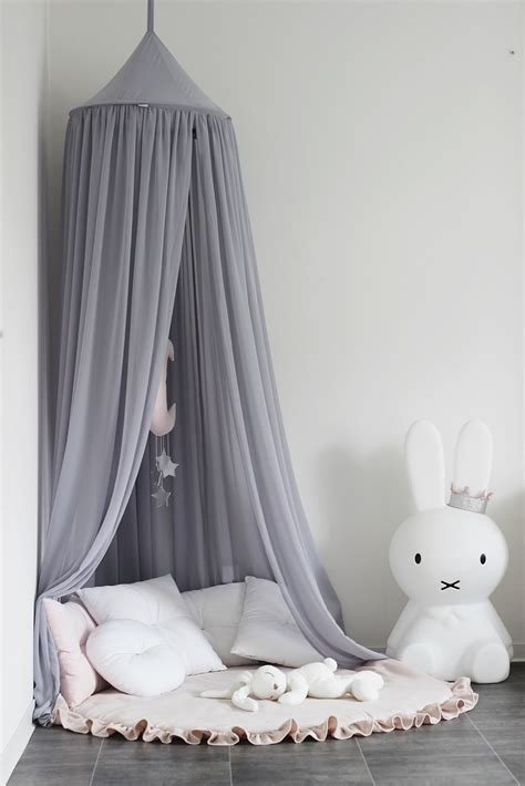 cotton sweets canopy  dove grey daisies  dinosaurs