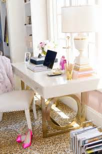 Leopard Print Room Decor by Desk With Gold Feet Betterdecoratingbible