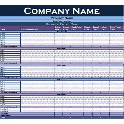 excel form templates collection of excel tutorials and templates for project managers