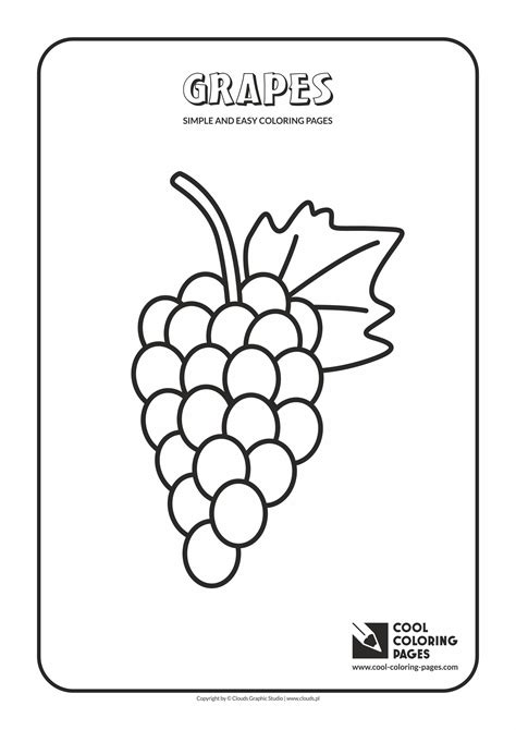 cool coloring pages simple  easy coloring pages cool