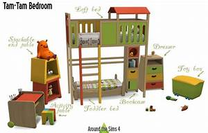 Around the sims 4 tam tam kidsroom o sims 4 downloads for Sims freeplay baby bathroom
