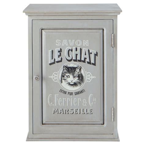 meuble haut salle de bain le chat maisons du monde