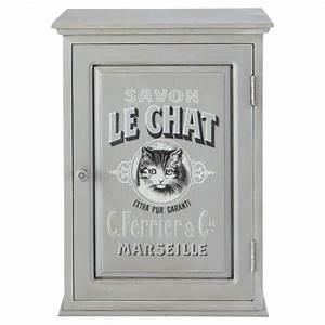 Meuble De Salle De Bain Maison Du Monde : meuble haut salle de bain le chat maisons du monde ~ Melissatoandfro.com Idées de Décoration